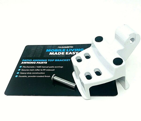 RV Trailer Aamp;E Dometic White Awning Arm Top Mounting Bracket 3308106.000B $29.95