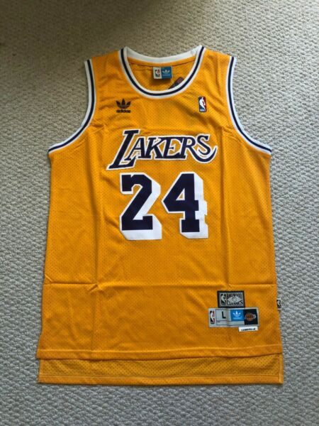 Kobe Bryant #24 Los Angeles Lakers Yellow Hardwood Classic Men's Jersey