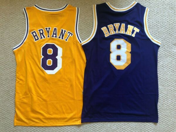 Kobe Bryant #8 Los Angeles Lakers Yellow Hardwood Classic Men's Jersey