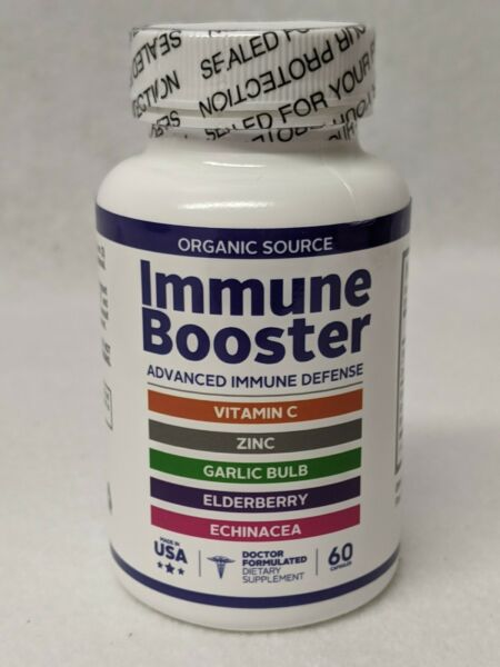 VITAMIN C**ZINC**ELDERBERRY**ECHINACEA**5 in 1 IMMUNE System BOOSTER amp; SUPPORT