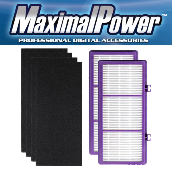 Replacement HEPA D Filter for Holmes AER1 HAPF300 HAP30 2 PK 4 Carbon Sheets $15.97