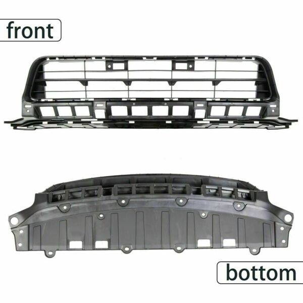 Fit HD Civic Sedan 2009 2010 2011 Front Bumper Lower Grille Black Grill