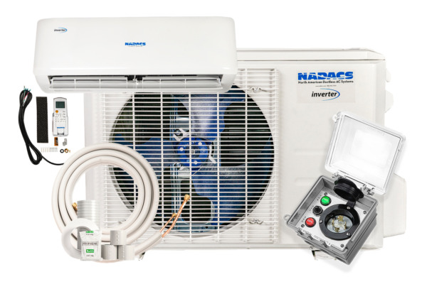 12000 BTU 23 SEER COOL HEAT WIFI includes EVERYTHING FOR INSTALL $1299.99