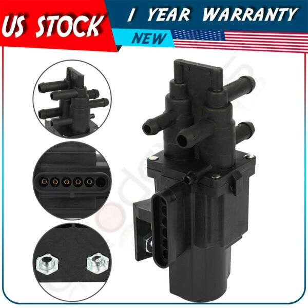 6 Port Fuel Gas Dual Tank Selector Valve For Chevrolet Dodge Ford