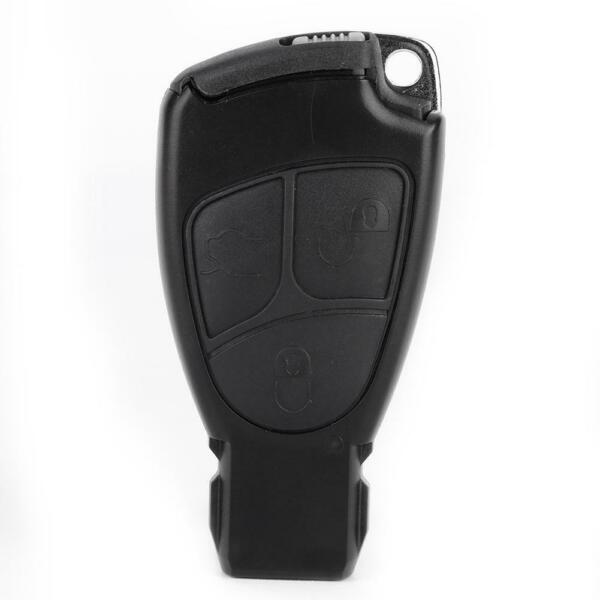 3 Button Car Remote Key Fob Shell Case Blade Fit for Mercedes Benz C E Class