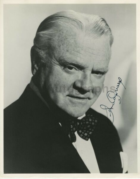 James Cagney - Iconic Actor and Performer - Signed 8x10 Photograph