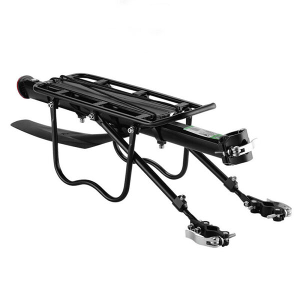 Rear Bicycle Rack Cargo Rack Bike Quick Release Mount Alloy Carrier US