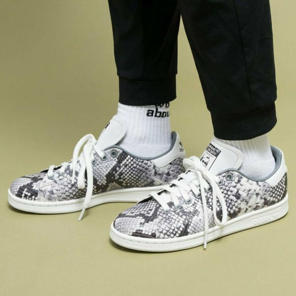 ADIDAS STAN SMITH SNAKE SKIN RARE COLOR EH0151 MEN'S CASUAL SHOES 100% AUTHENTIC