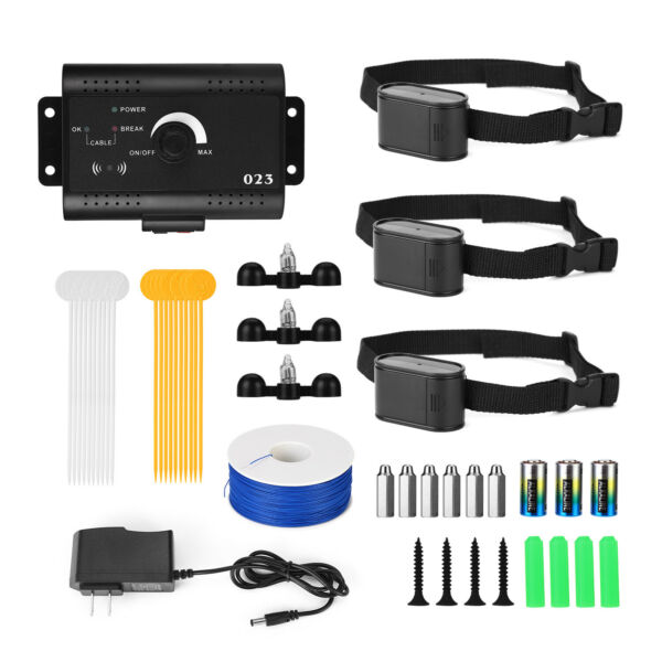 Waterproof Shock Collar Electric Dog Pet Fence System for 1 2 3 dogs Wireless $32.99