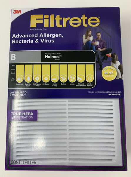 3M Filtrete™ Basic Air Filter Pleated Furnace Replacement Dust Pack 3-6-12 PC