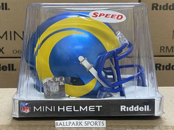 LOS ANGELES RAMS Riddell Speed Mini Helmet 2020 DESIGN NEW IN BOX $27.99