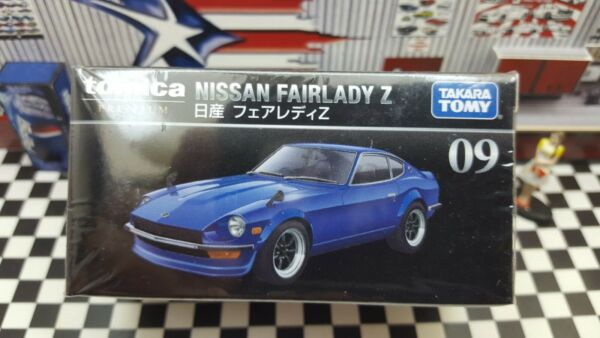 TOMICA PREMIUM #09 NISSAN FAIRLADY Z 1 58 SCALE NEW IN BOX