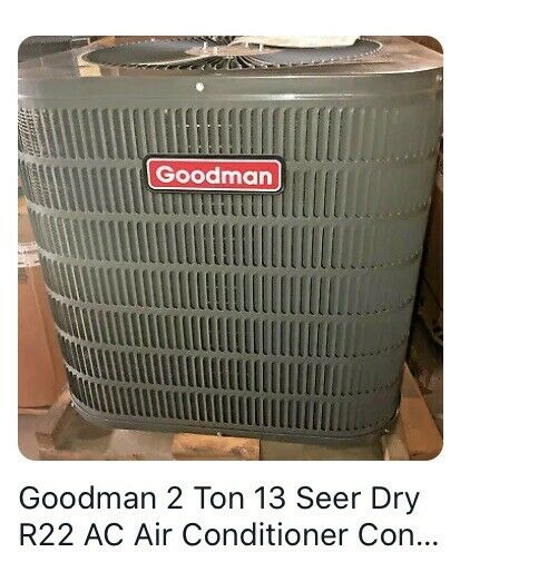 Goodman 2 Ton 13 Seer Air Conditioner Condenser R410 A GSX130241 $650.00