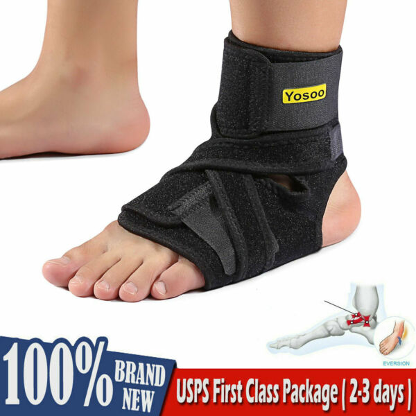 Yosoo NEW Night Foot Drop Orthosis Brace Ankle Plantar Fasciitis Splint Support。
