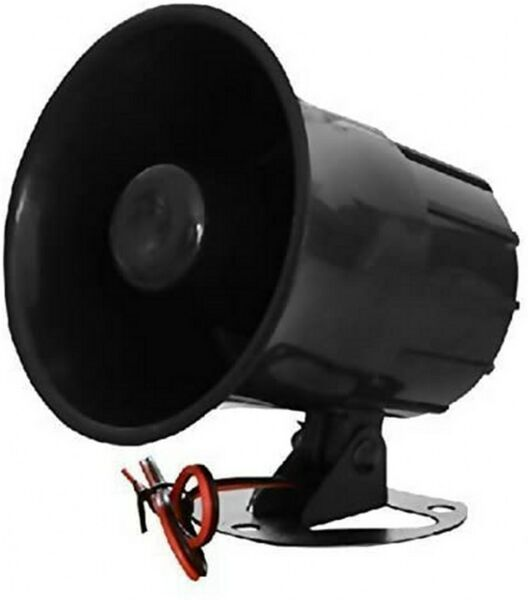 Electronic Alarm Siren Horn Outdoor for Home Security Protection System New $14.40