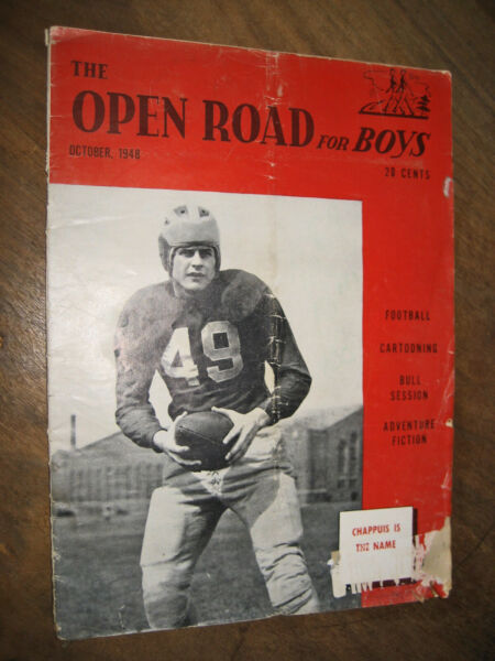 Open Road For Boys Oct. 1948 VINTAGE $4.99