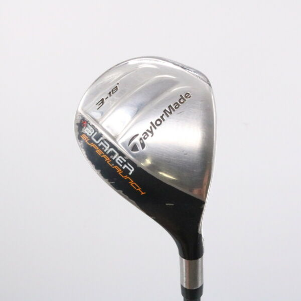 TaylorMade Burner Superlaunch 3 Rescue 18 Degrees REAX 60 M Senior Flex 70143G