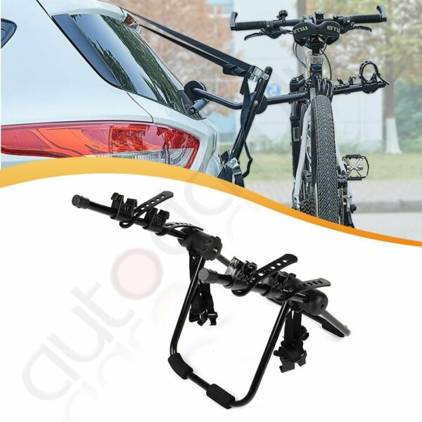2 bikes Bicycle Heavy Duty Cycle Rack Hatchback rear bicycle carrier Iron Mount $51.50