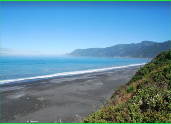 VIEWS!  LARGE COASTAL LOT - HUMBOLDT COUNTY - SHELTER COVE CALIFORNIA LAND CA