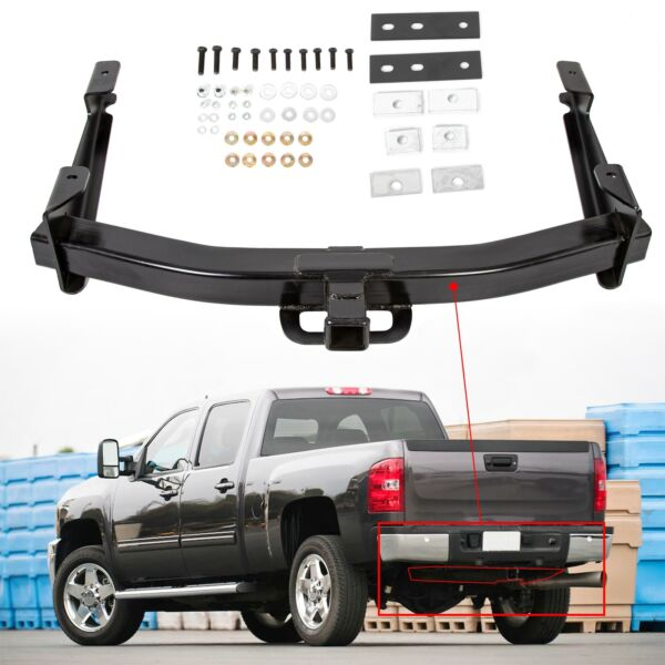 Class 5 V Trailer Receiver Hitch for 01 10 Chevy Sierra Silverado 2500HD 3500HD $157.90