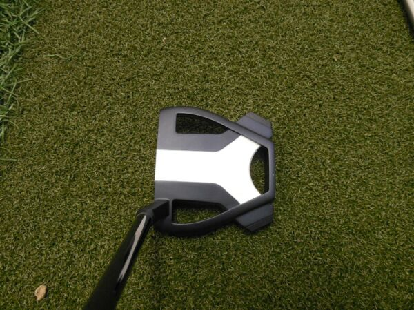 Taylormade SPIDER X TOUR NAVYWHITE #3 hosel w black shaft Tour Issue headcovee