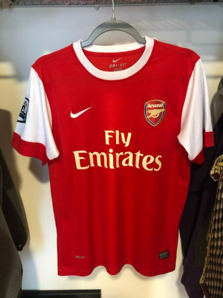 Men's Arsenal Home Jersey 2010-2011 Size Small