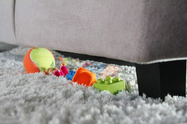BOWERBIRD Clear Toy Blockers for Furniture Carpet amp; Rug Version 5 Pack 80 in $14.99
