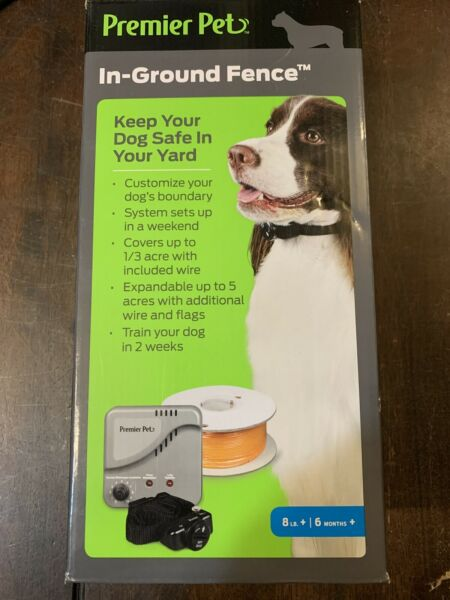 Premier Pet In Ground Fence GIG00 16919. NEW $57.95