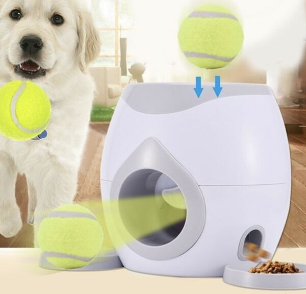 Automatic Tennis Ball Launcher For Pets $38.99
