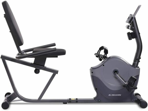 Magnetic Recumbent Exercise Bike Indoor Cycling Stationary Bike Adjustable Seat $189.99