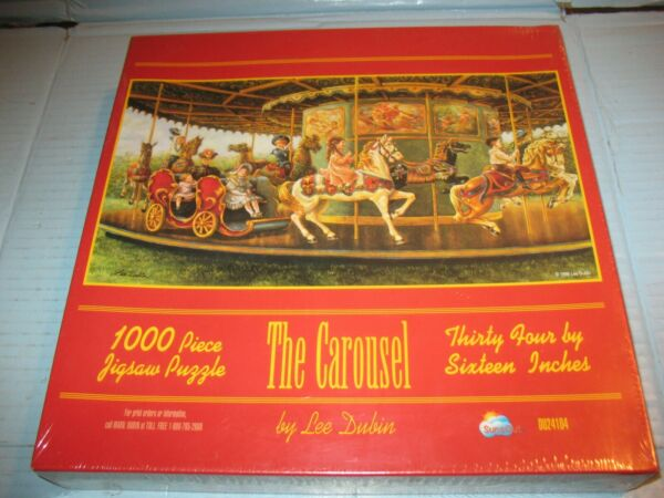 Sunsout The Carousel 1000 Piece Puzzled Sealed