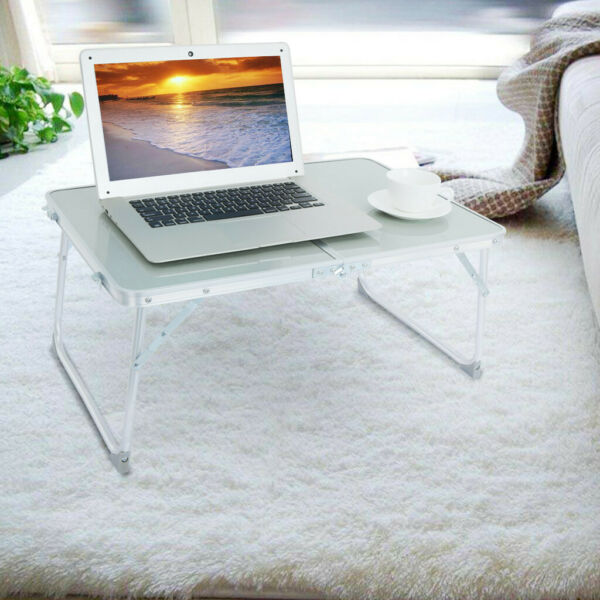 Large Bed Tray Foldable Portable Multifunction Laptop Desk Lazy Laptop Table US $14.99