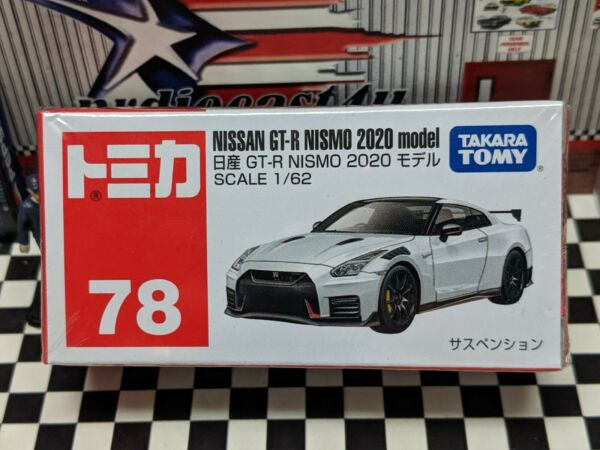 TOMICA #78 NISSAN GT R NISMO 2020 MODEL 1 62 SCALE NEW IN BOX
