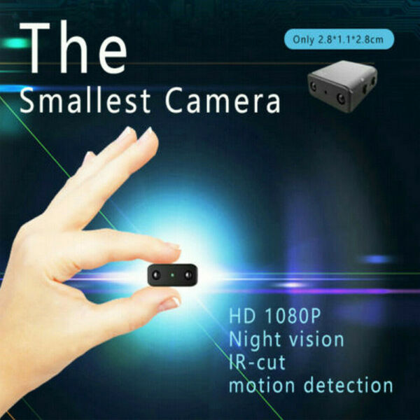 Full HD 1080P Mini Hidden Spy Camera Night Vision Motion Security DVR Camera USA $15.99