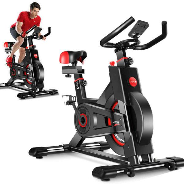 Indoor Cycle Bike Exercise Bike Stationary Bicycle Home Gym Cardio Trainer Pedal $199.09