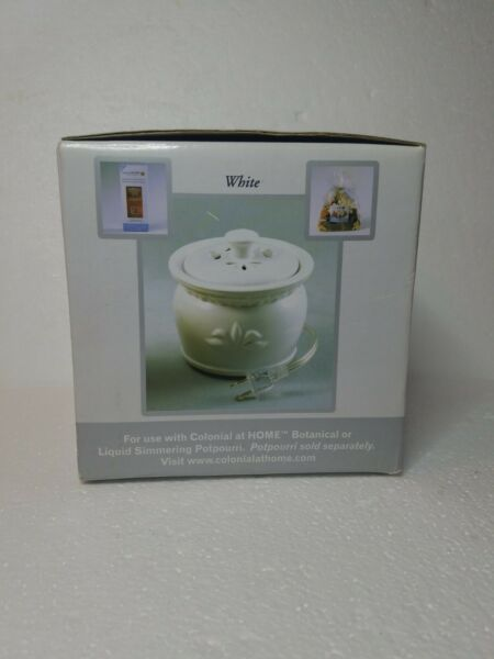 Electric Home Fragrance Simmer Pot By Colonial at Home Exquisite Home Fragance $19.99
