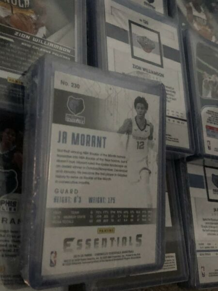 Monty Hot Pack Series 4 Guaranteed Ja Morant OR Zion Williamson Ships 9 26