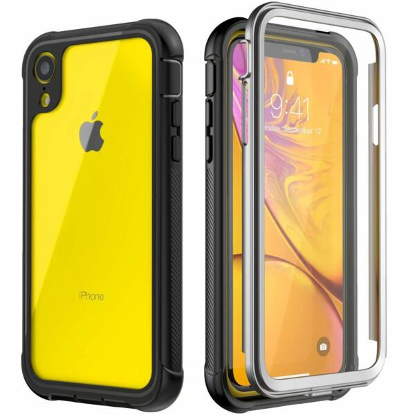 Heavy Duty Screen Protector for iPhone XR Case life Shockproof XsMax Waterproof $11.19