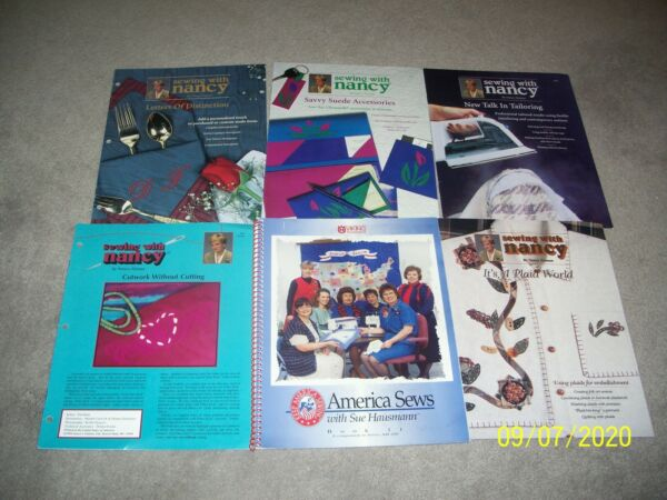 America Sews with Sue Hausmann: Book 11 amp; Sewing With Nancy Zieman 6 Booklets