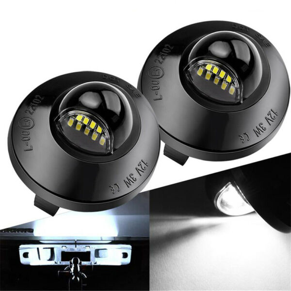 2x Set LED License Plate Light Replacement For Ford F150 F250 F350 1990 2014 $9.99