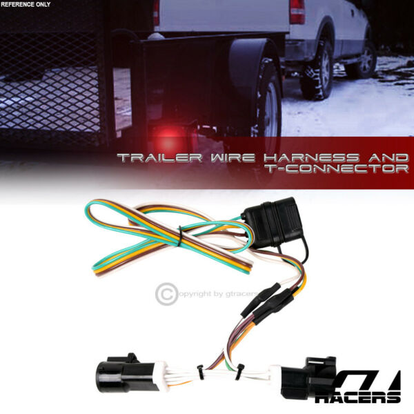 For 1986 1992 Ford Ranger Trailer Hitch 4 Way Output Wire Harness T Connector $35.00