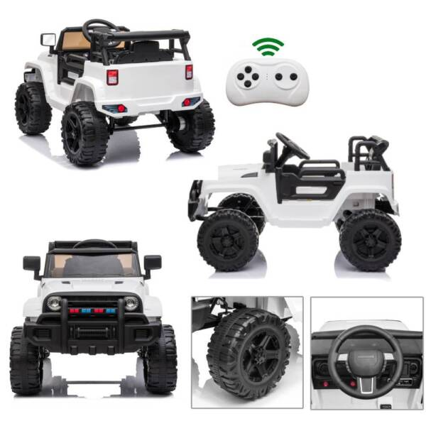 Electric 12V Kids Battery Ride On Car Toy Wheel Music w Remote Control BLACK $138.99