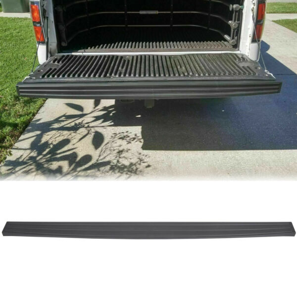 For 2009 2014 Ford F150 Tailgate Top Protector Spoiler Cover Moulding Cap Black $35.20
