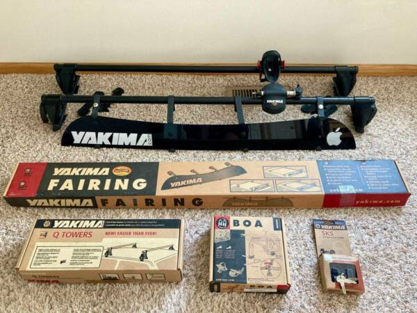 YAKIMA Roof Bike Rack Complete $250.00