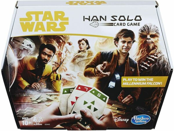 New Star Wars Sabacc Card Game Han Solo By Hasbro Gaming Ages 10 Free Shipping