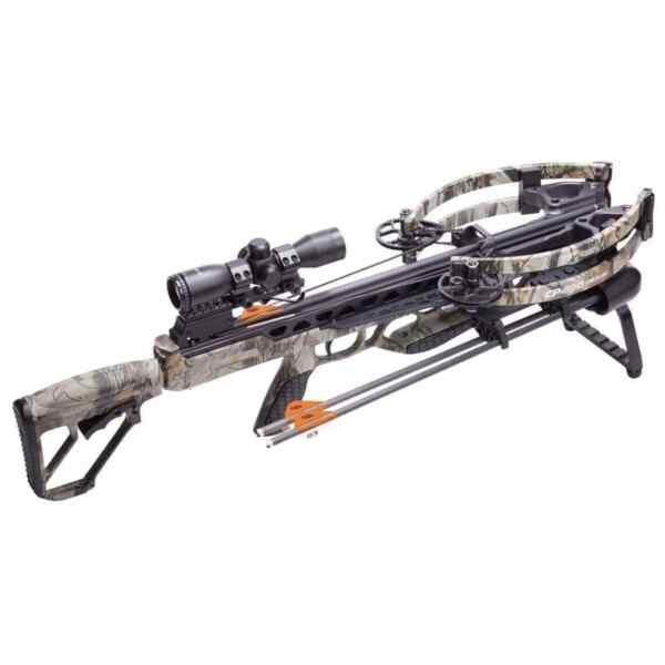 NEW 2020 CenterPoint CP400 Crossbow Package RAVIN R LIMBS Camo 400fps