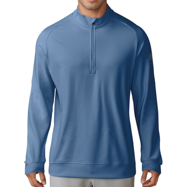 Adidas Golf Men#x27;s Classic Club 1 2 Zip Pullover NEW