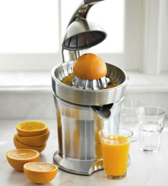 BRAND NEW Breville Die Cast Citrus Juicer 800CPXL 110W Stainless Steel