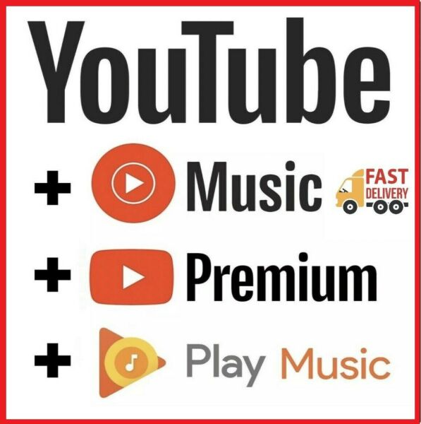 YOUTUBE 6 Months Premium New Prepaid 100% private Works Worldwide Fast 🚀