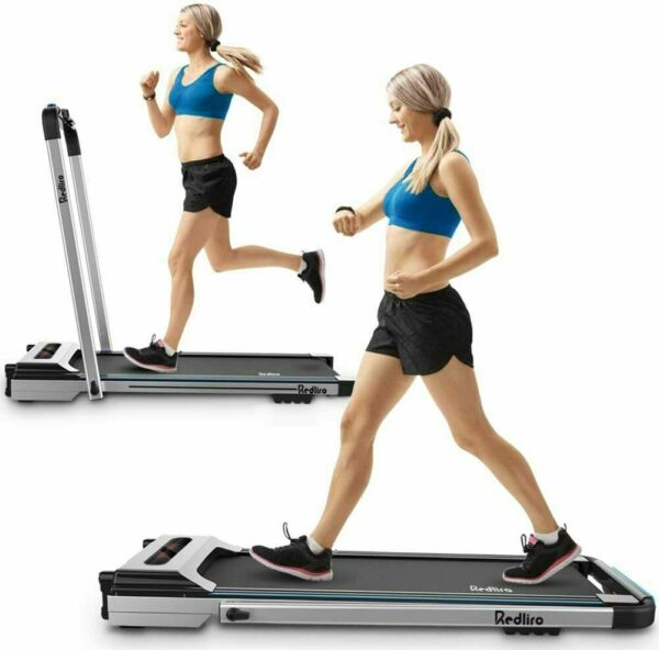 Treadmill Electric Motorized Folding 2.25 HP 2 in 1 Running Machine Home Office $227.98